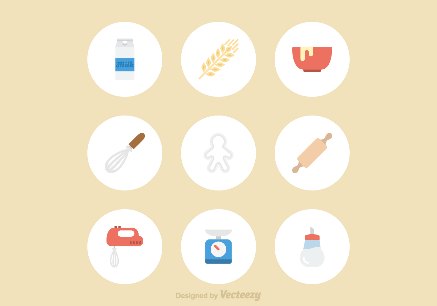 Baking Vector Icons Download Free Vector Art Stock