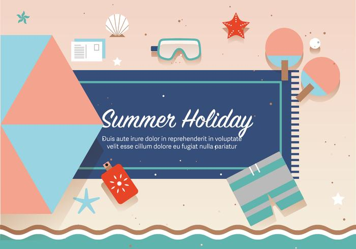 Free Summer Holiday Vector