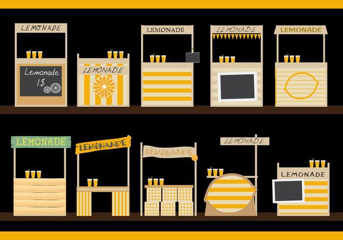 Lemonade Stand Design personalizzato