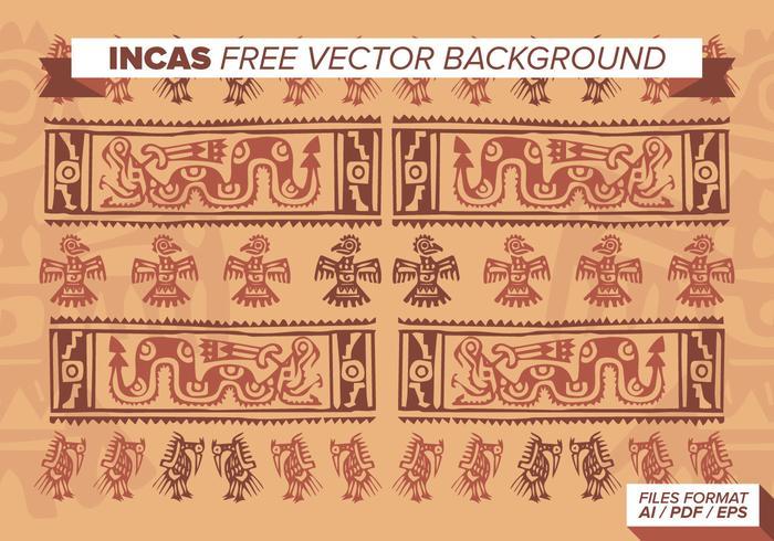 Inca Gratis Vector Achtergrond