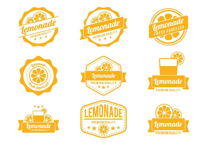 Limonad badgevektorer