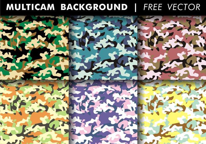 Multicam Background Free Vector