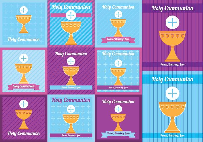 Holy Comunion Card