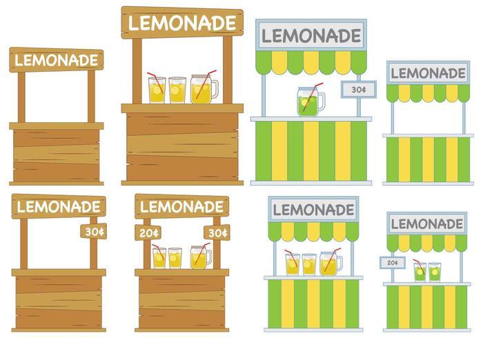 Limonade staan