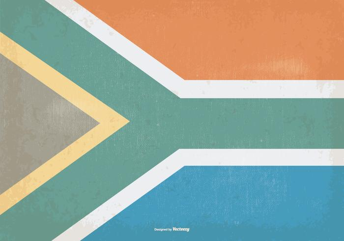 Vintage Flag of South Africa