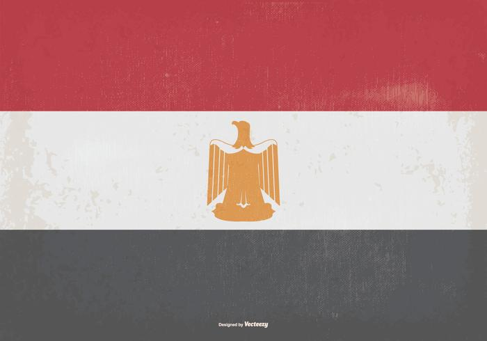 Vintage Flag of Egypt