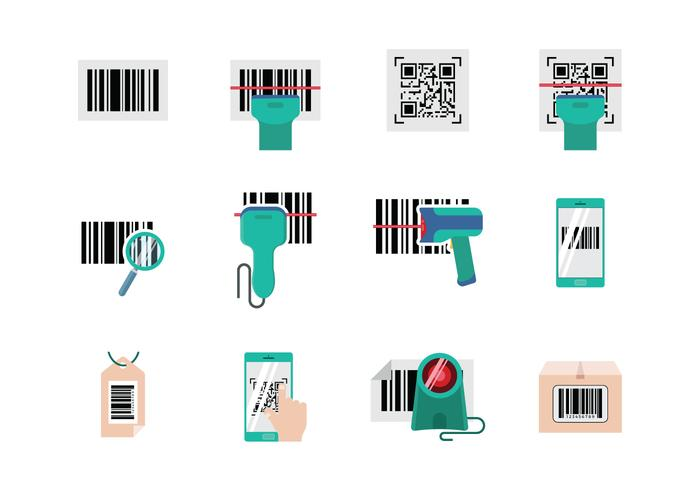 Barcode Free Scanner Vector