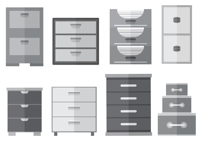 free file cabinet icons vector download free vector art stock