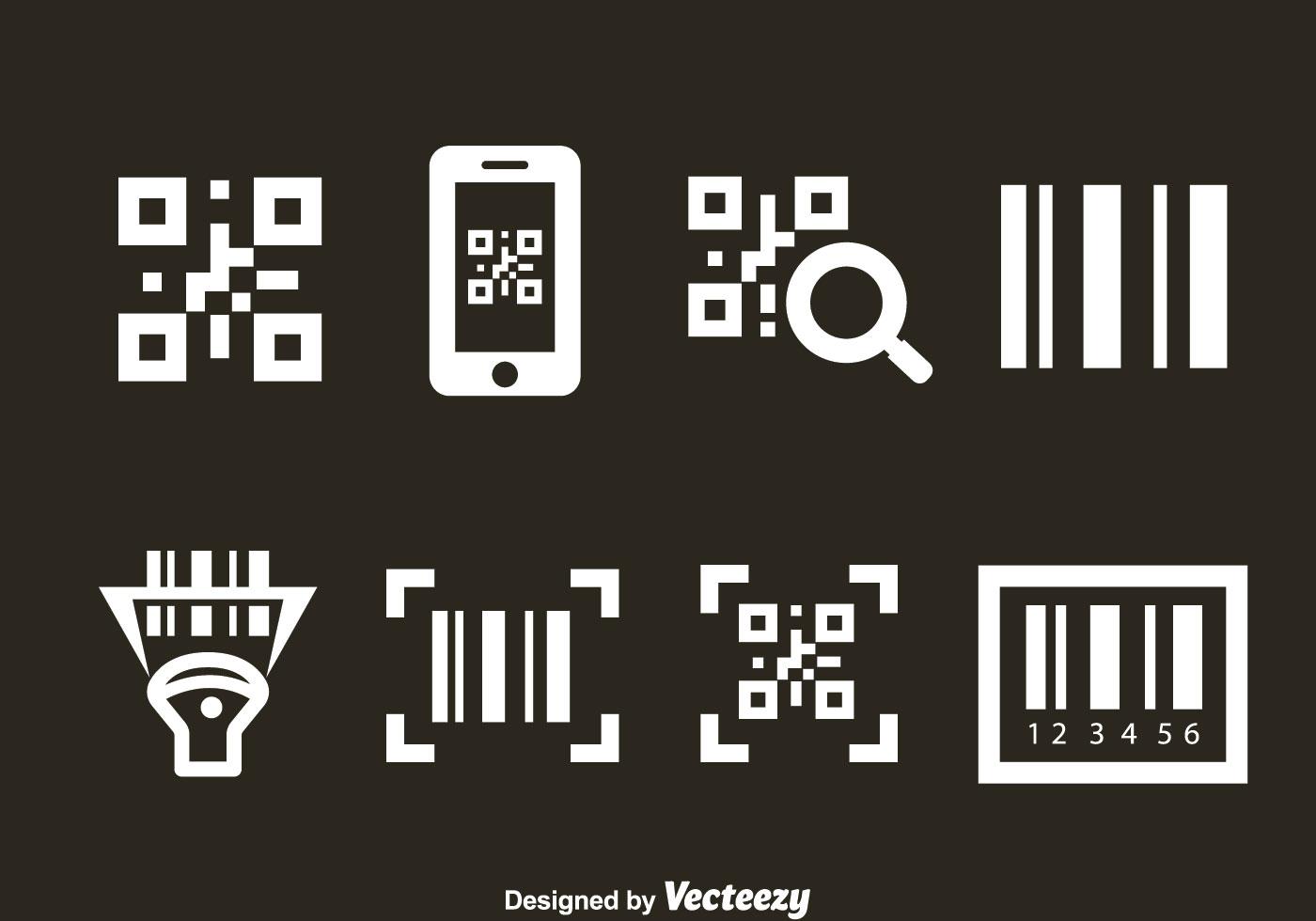 barcode scanner vector
