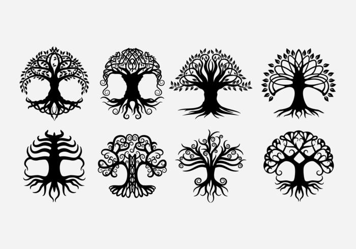 Celtic Tree Vectors