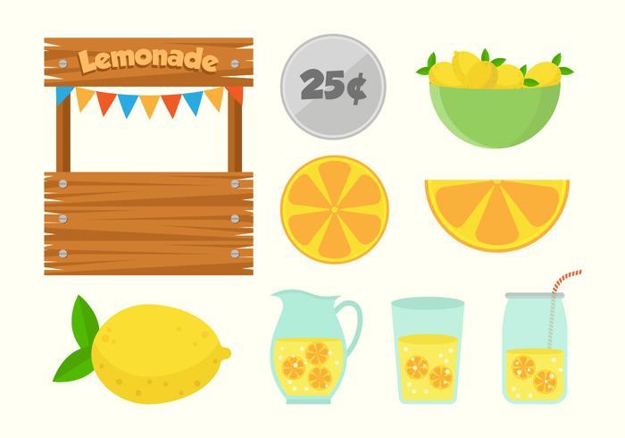 Free Lemonade Stand Vectors