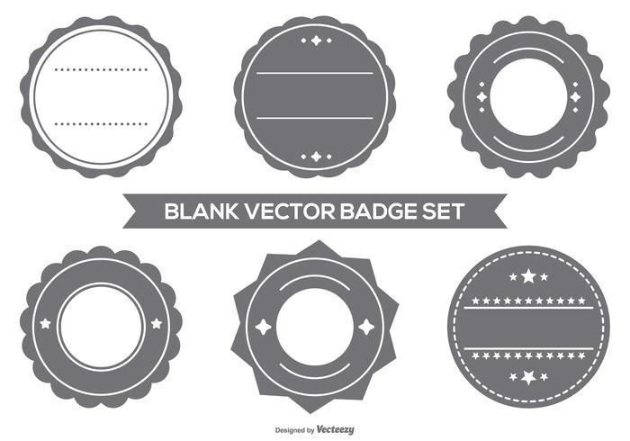 Lege Vector Badge Set