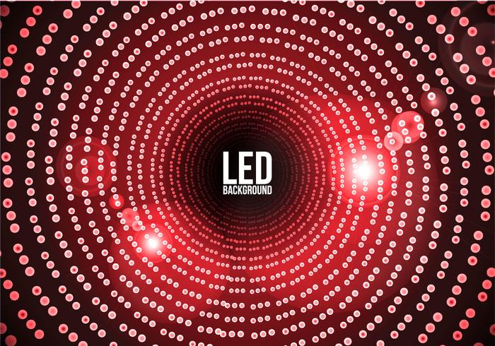 Led Screen Background Vector