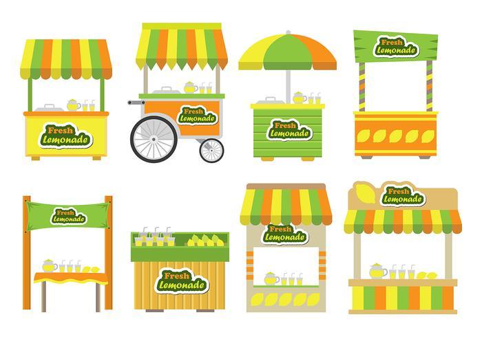 Lemonade stand icons