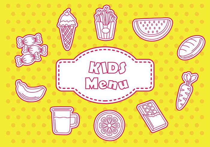 Kids menu icon