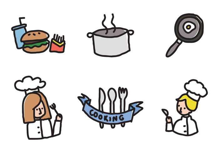 Kids Cooking Icons