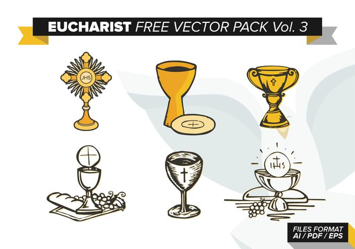 Eucharist Free Vector Pack Vol. 3