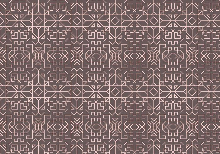 Outline Geometric Pattern