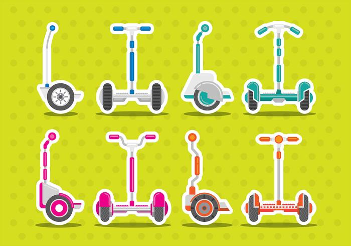 Segway Vector Icons
