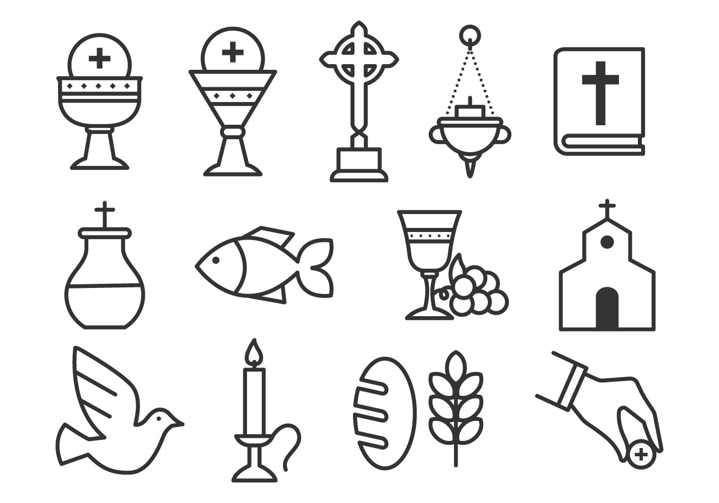the eucharist sacrament signs symbols essay The sacraments of reconciliation and eucharist are the next tow sacraments a catholic receives reconciliation is a sacrament that is received just prior to receiving eucharist for the first time.