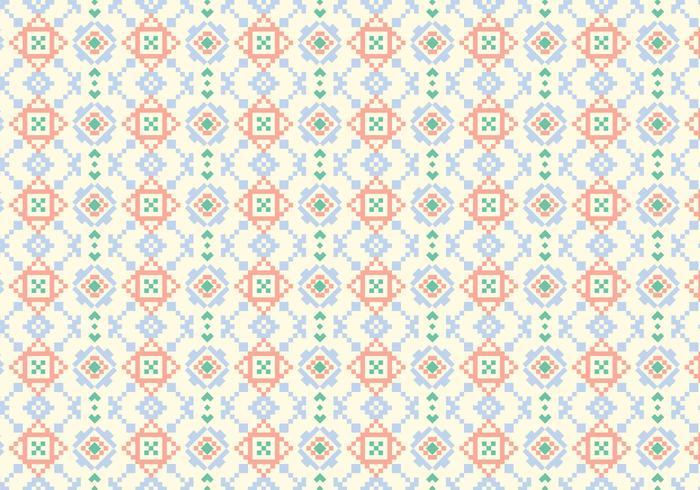 Geometrisk motivmönster