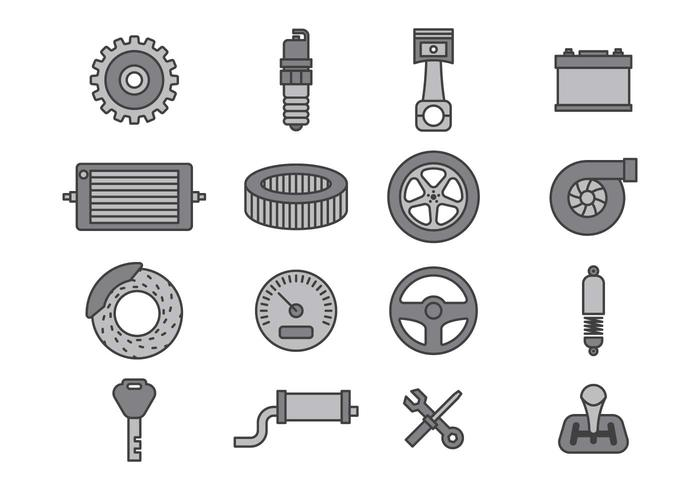 Car Mechanic Icon Sets Download Free Vector Art Stock Graphics