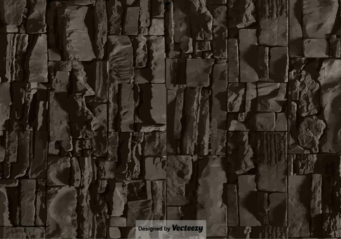Stone Wall Texture - Vector Background
