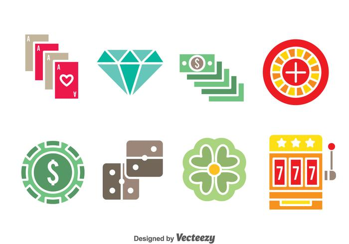 Casino Element Colors icons