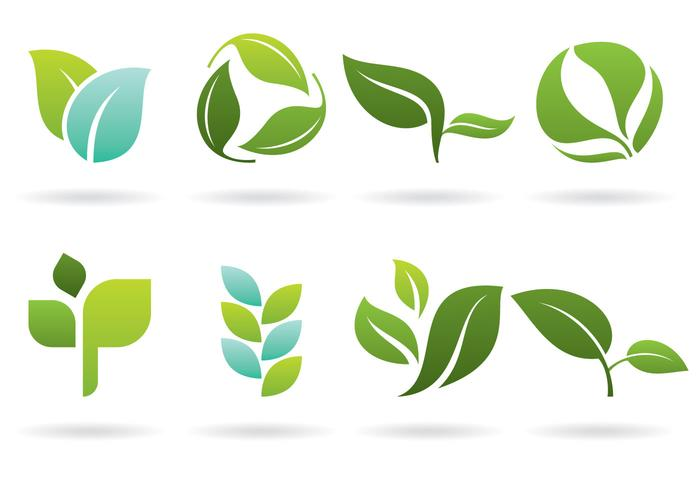 Leaves Logos Download Free Vector Art Stock Graphics