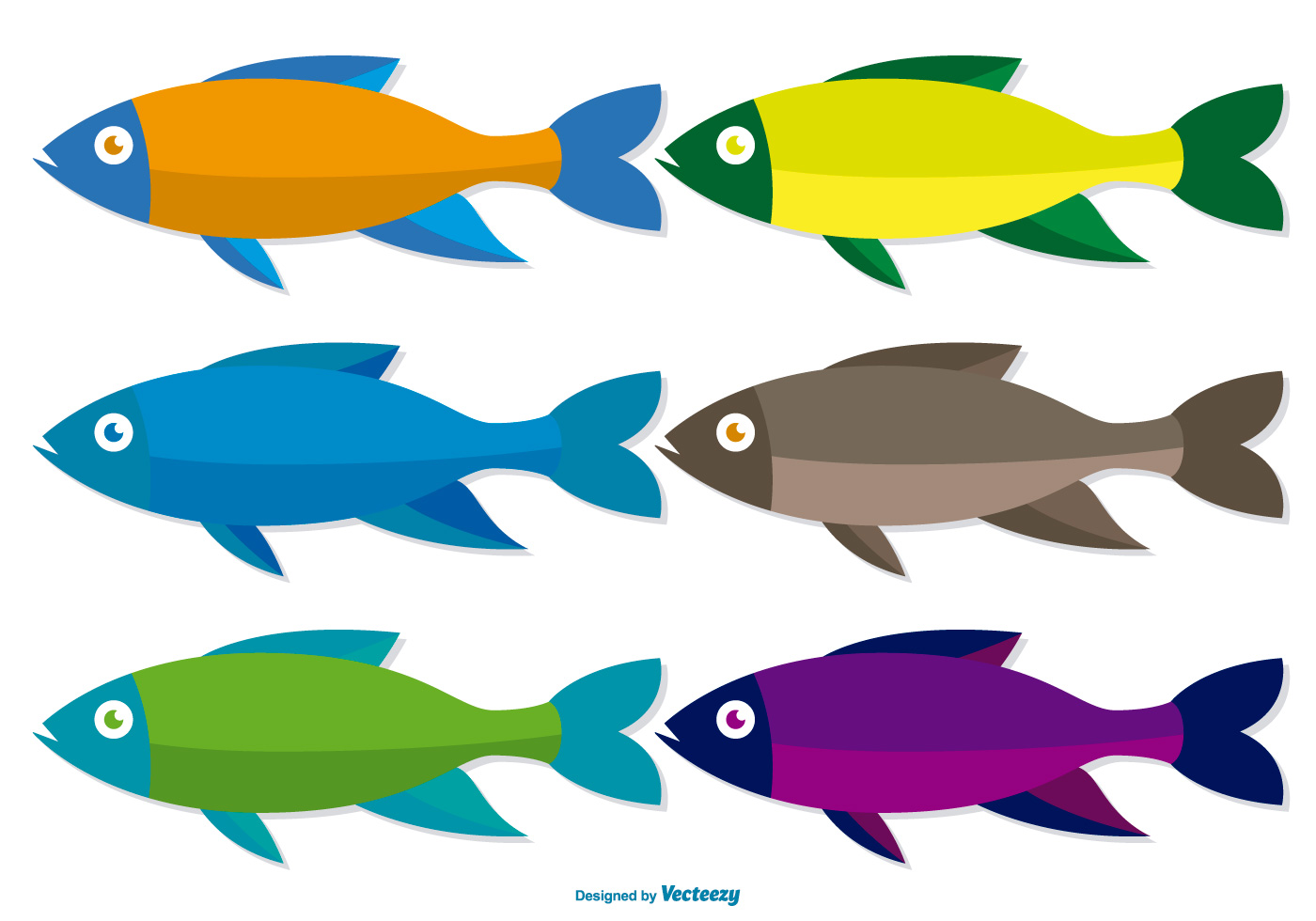 Free Fish Vector - Download Free Vector Art, Stock Graphics & Images