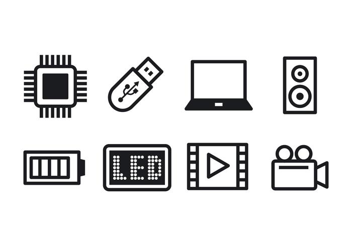 Free Technology Icon Set