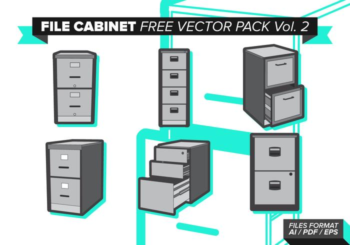 Aktenschrank free vector pack vol. 2