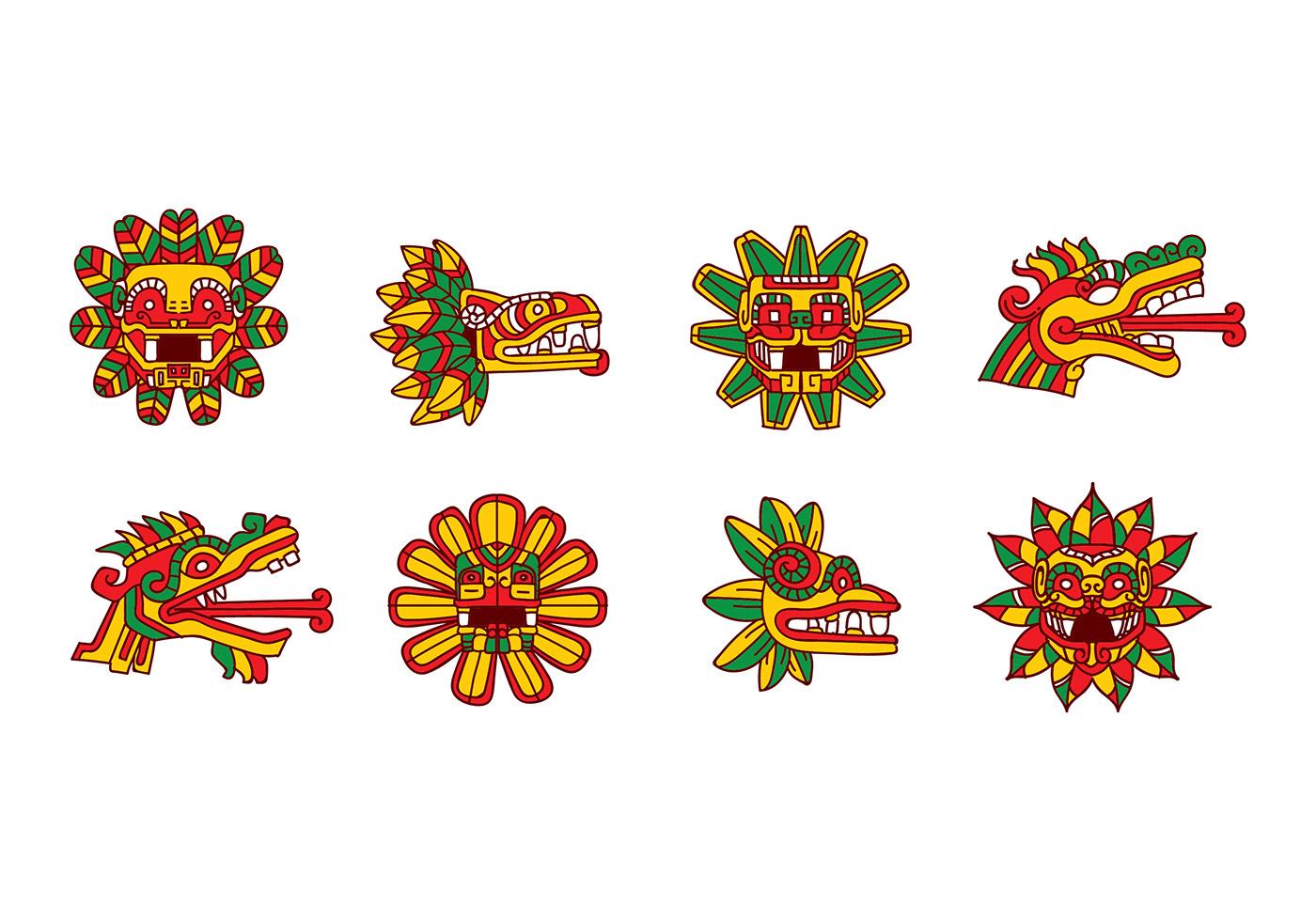 Quetzalcoatl Vector Download Free Vector Art Stock