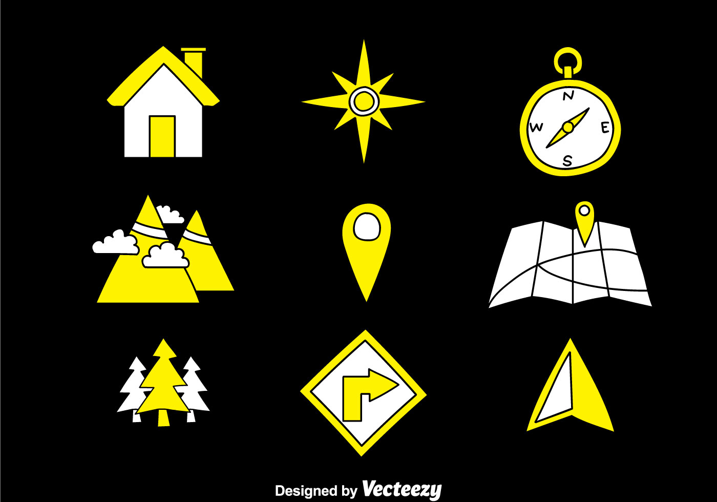 Map Legend Hand Draw Icons - Download Free Vectors ...