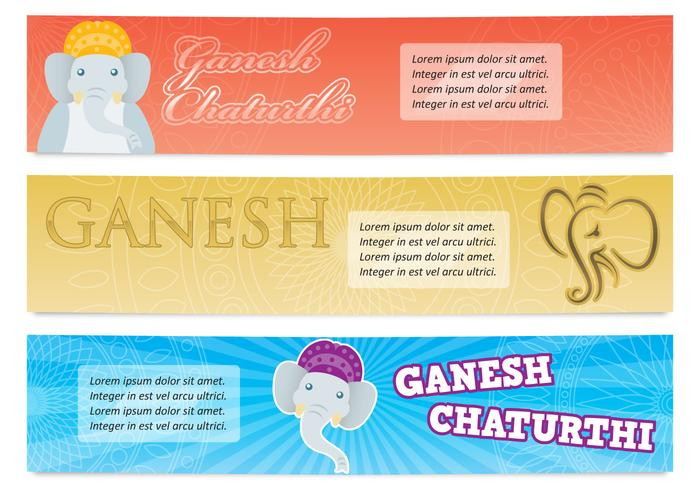 Banners de Ganesh