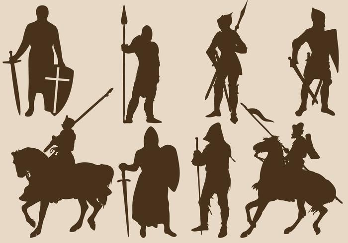 Templar Silhouettes