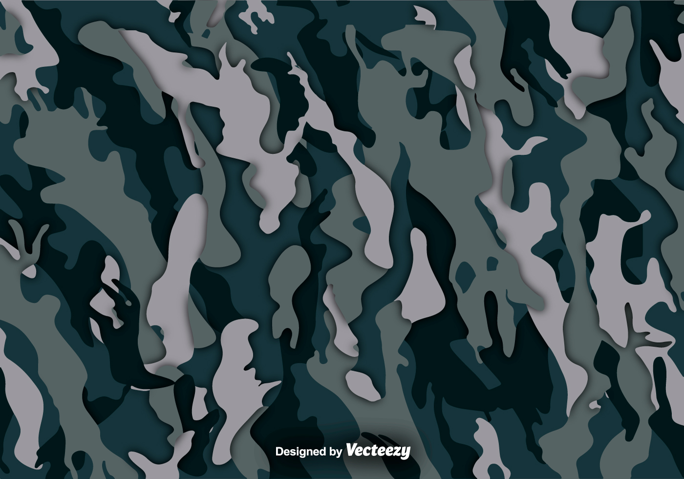 Multicam Vector Camouflage Background - Download Free