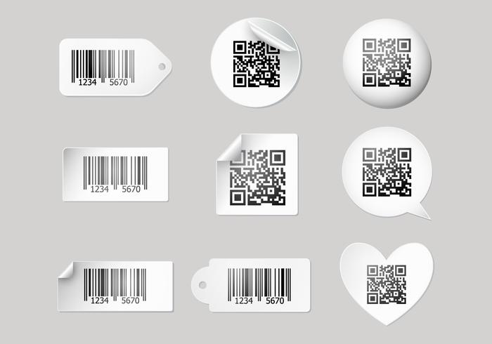 Livre Barcode Scanner Label Vectors