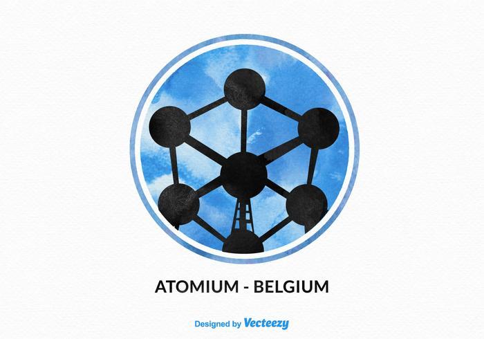 Free Vector Atomium