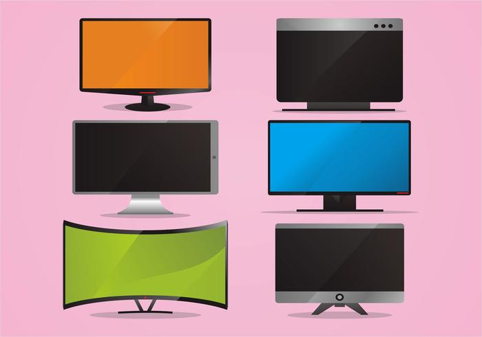 Led Screen Vector Set