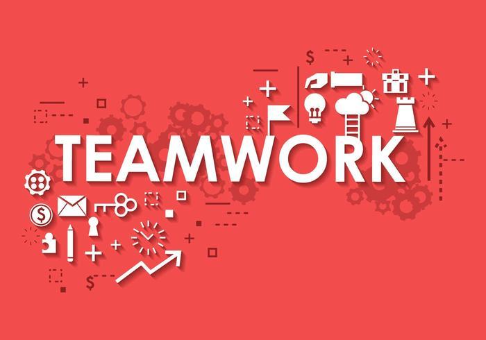 Business Teamwork Banner Background
