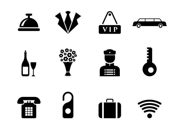 Free Concierge Vector Icons