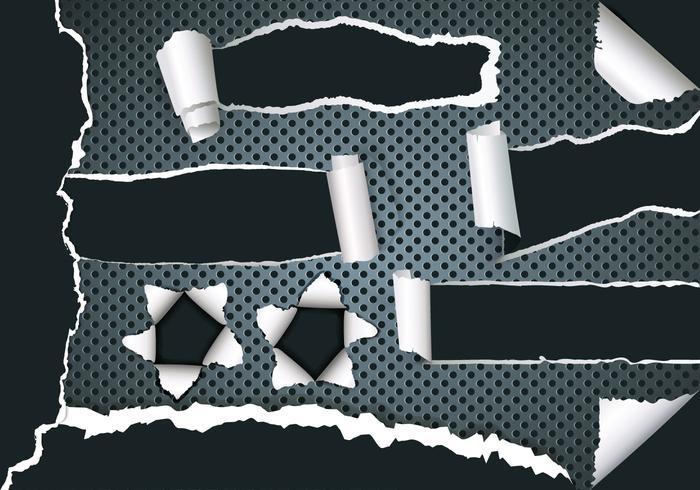 Metal Tear Vectors