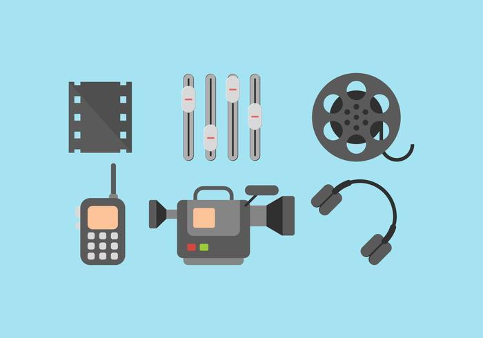 Vecteur gratuit d'édition vidéo 1