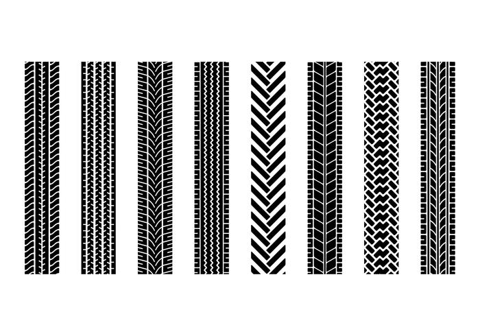 TIRE MARKS VECTOR