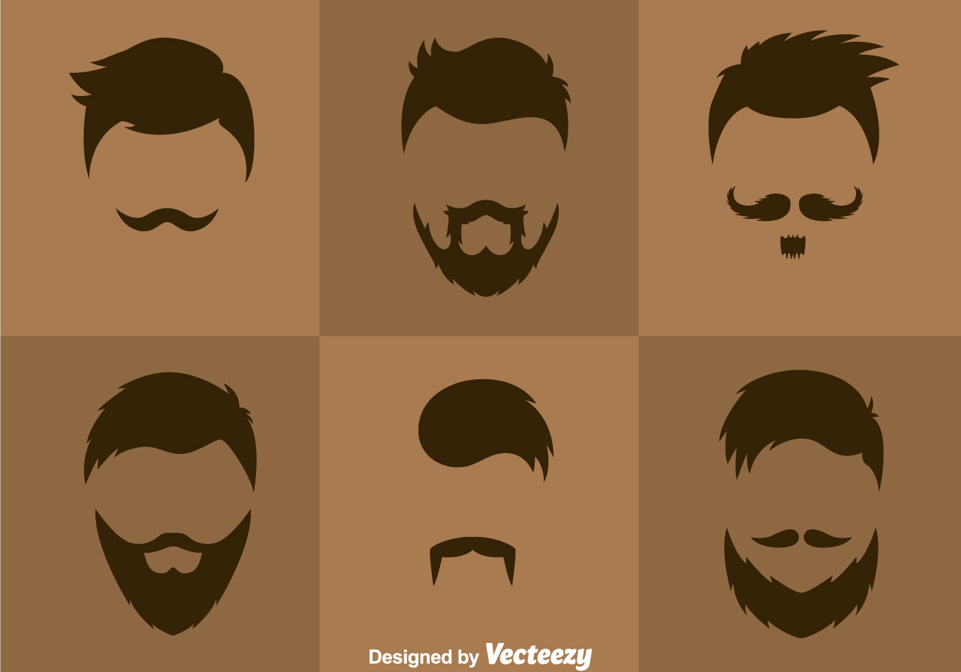 Man Hair Styles Vector Download Free Vector Art Stock