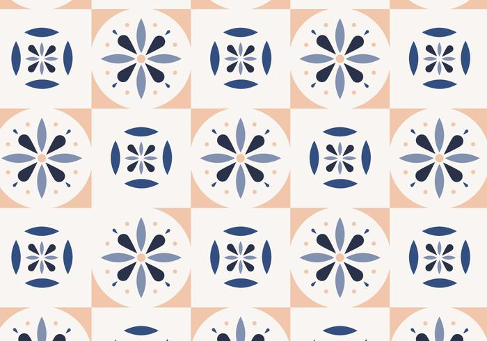 Light Color Tiles vector