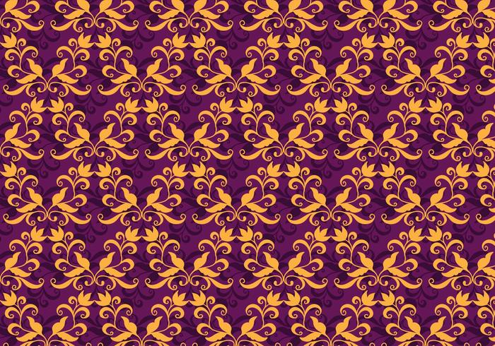 Vector Purple Purple Flourish Pattern