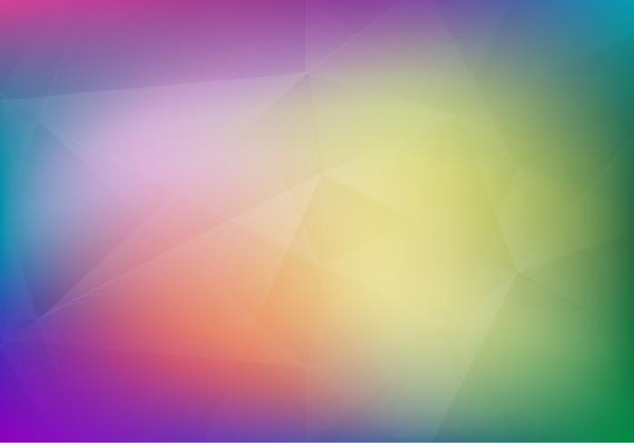 Free Vector Soft Polygon Degraded Hintergrund