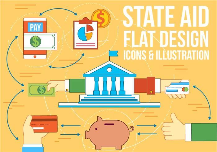 Free State Aid Vector